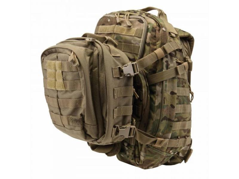 5.11 Tactical RUSH Tier System (Black)
