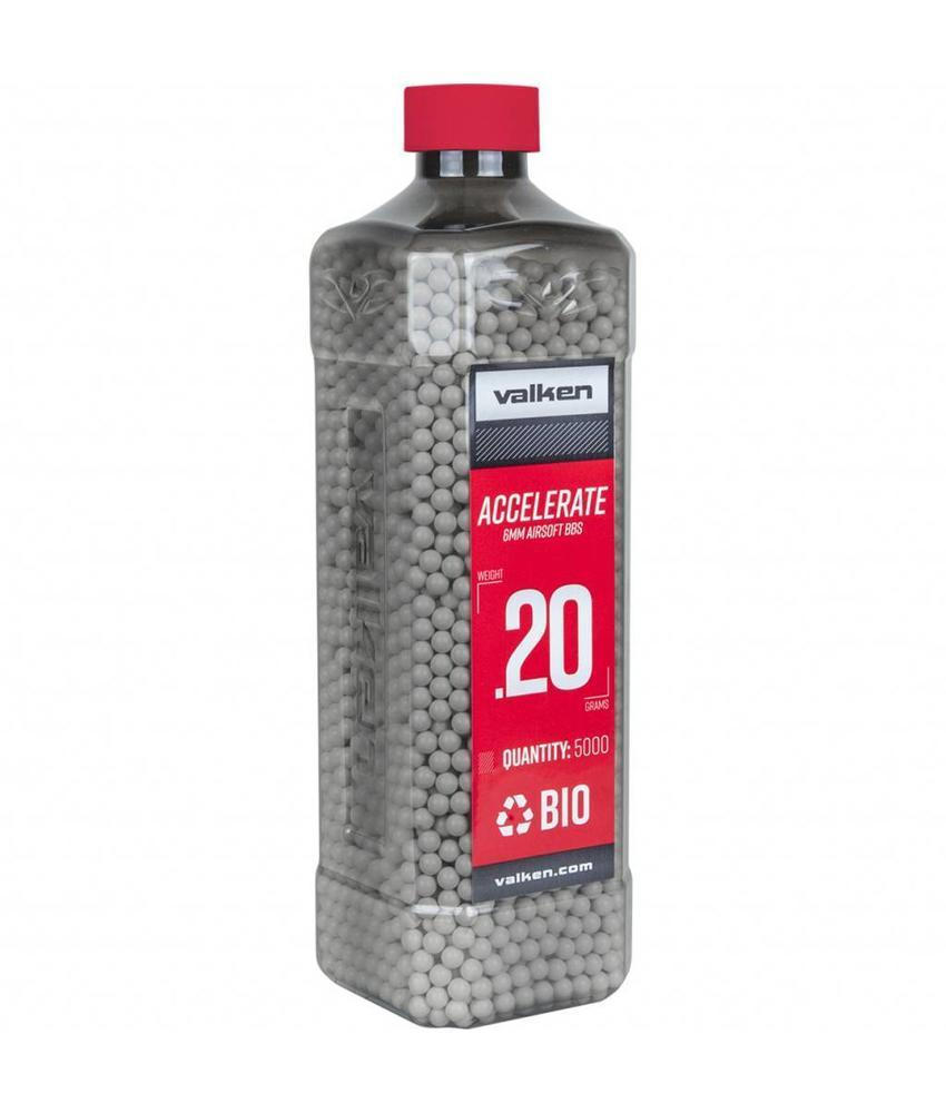 Valken ACCELERATE Bio BB 0,20g White (5000rds)