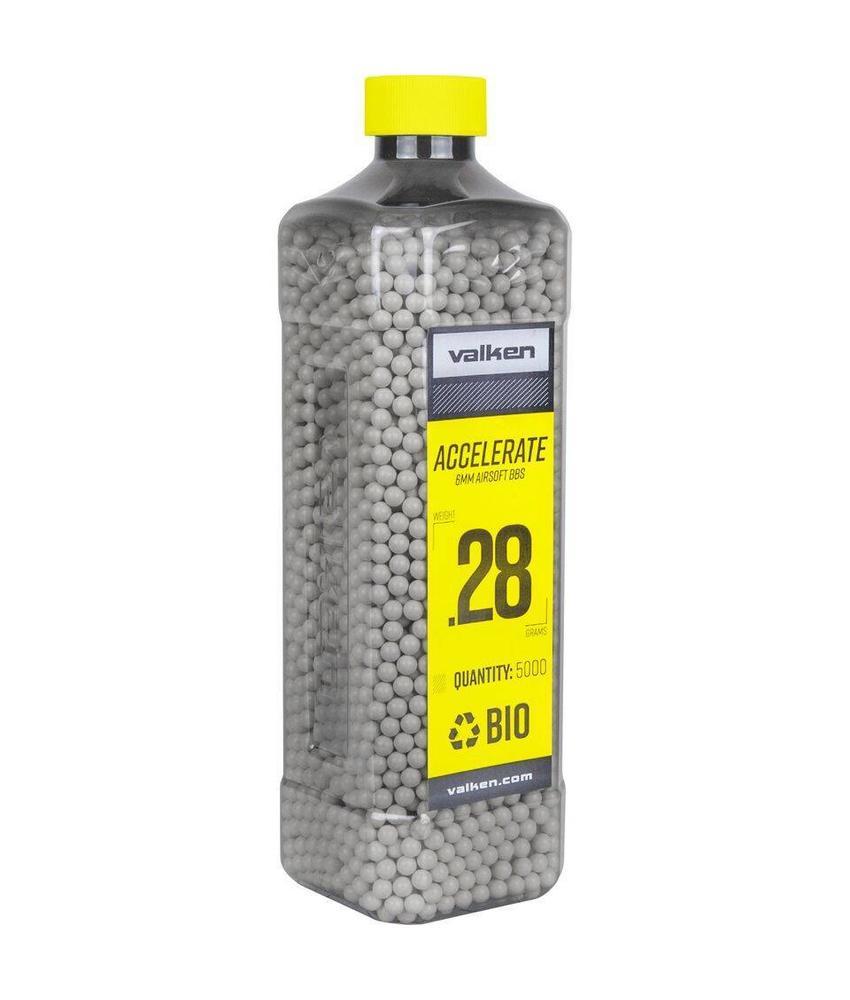 Valken ACCELERATE Bio BB 0,28g White (5000rds)