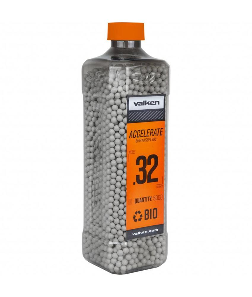 Valken ACCELERATE Bio BB 0,32g White (5000rds)