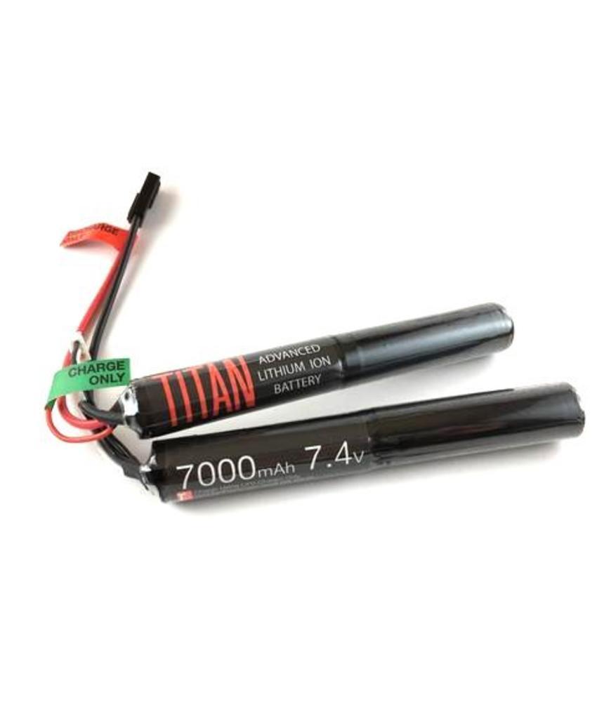 Titan Power 7.4V 7000mAh LiPo Battery (Nunchuck - Tamiya)