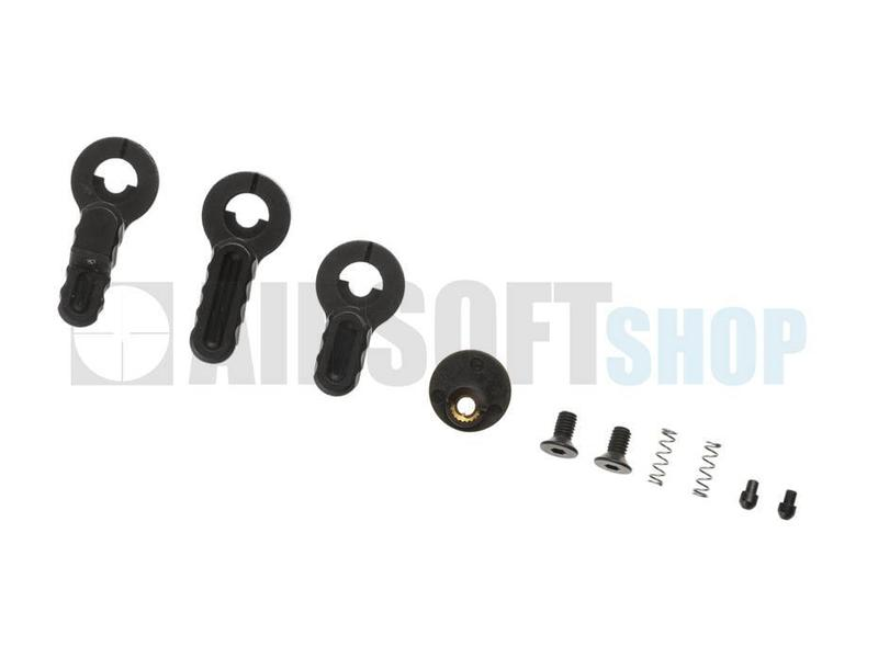 PTS B.A.D. Ambidextrous Safety Selector Switch (AEG) (Black)
