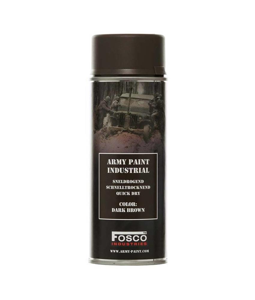 Fosco Spray Paint Dark Brown 400ml