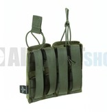 Invader Gear 5.56 Double Direct Action Gen II Mag Pouch (Olive Drab)