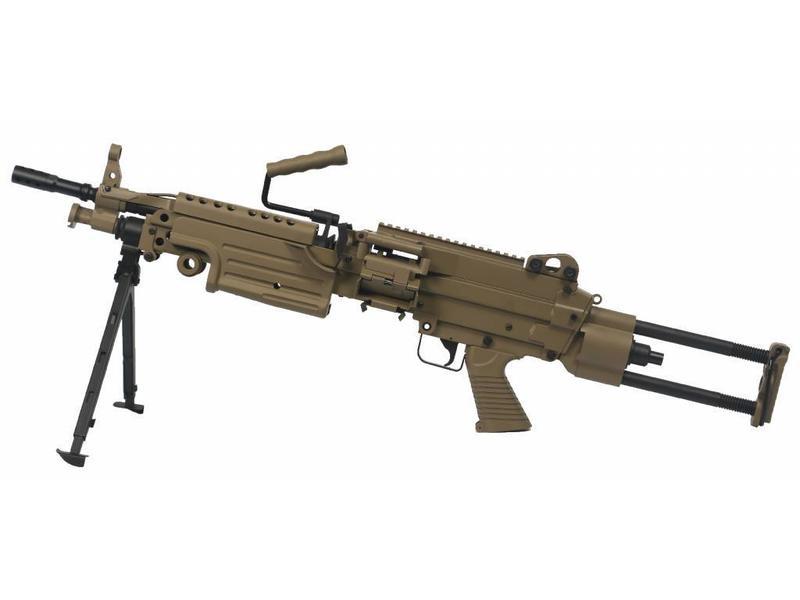 Cybergun M249 Para  (Dark Earth)