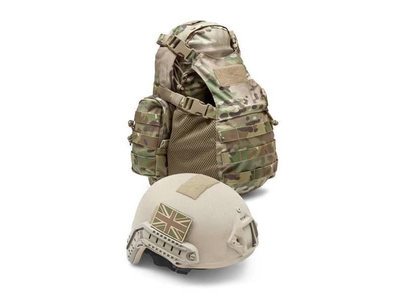 Warrior Helmet Cargo Pack (Black)