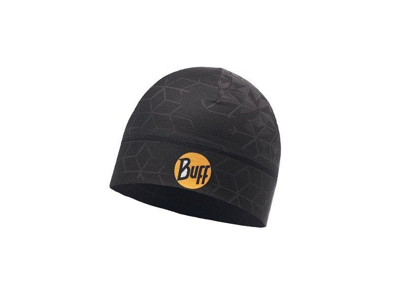 Buff Microfiber 1 Layer Hat Helix Black Muts