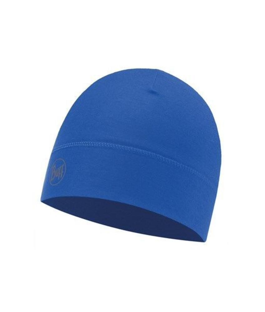 Buff Microfiber 1 Layer Hat Solid Cape Blue Muts