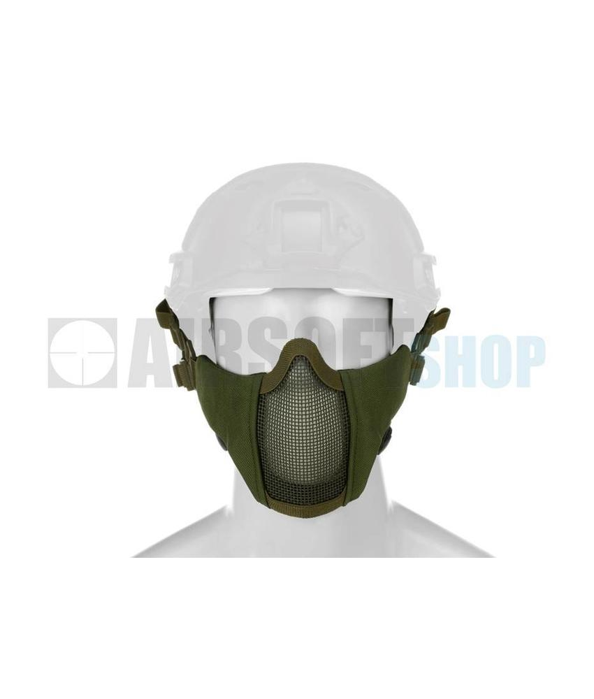Invader Gear Mk II Steel Mesh Mask FAST Helmet Version (Olive Drab)