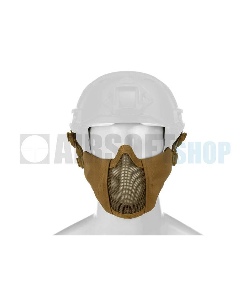 Invader Gear Mk II Steel Mesh Mask FAST Helmet Version (Tan)
