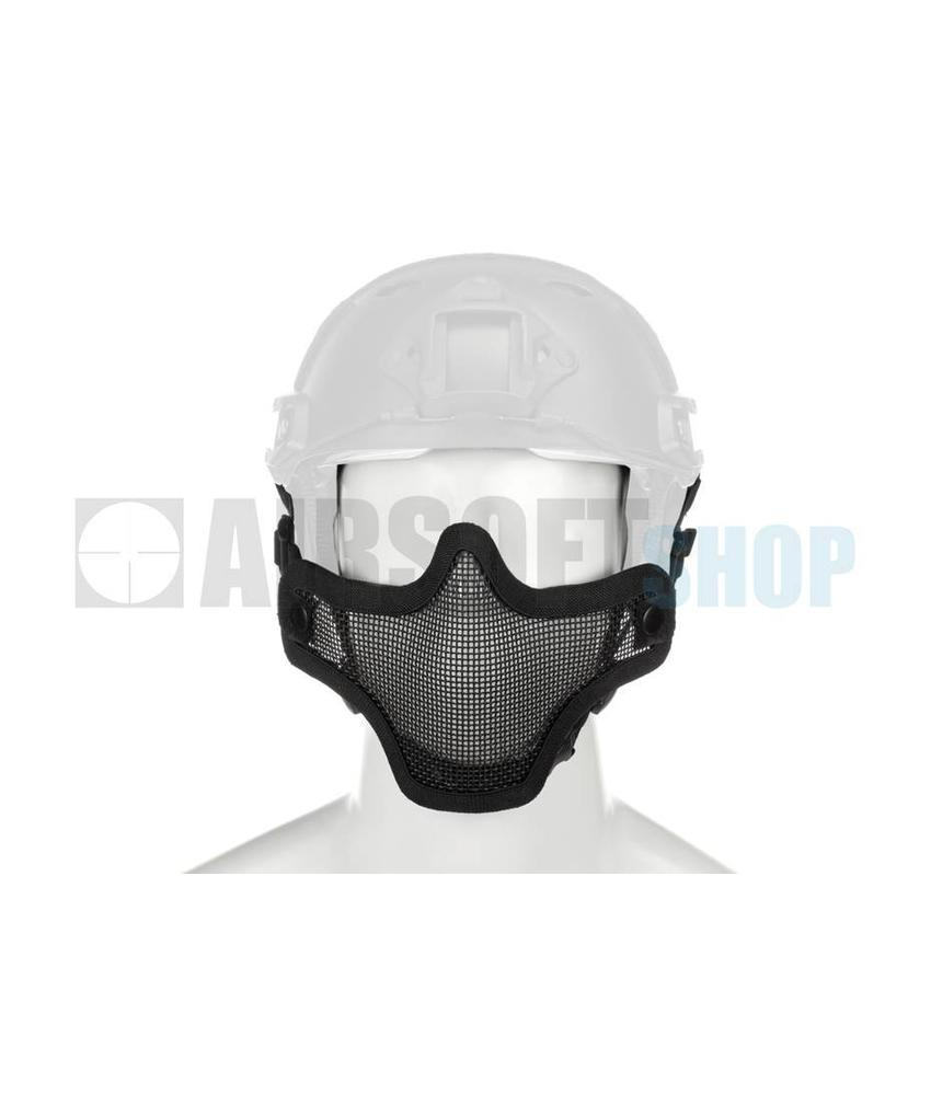 Invader Gear Steel Mesh Mask FAST Helmet Version (Black)