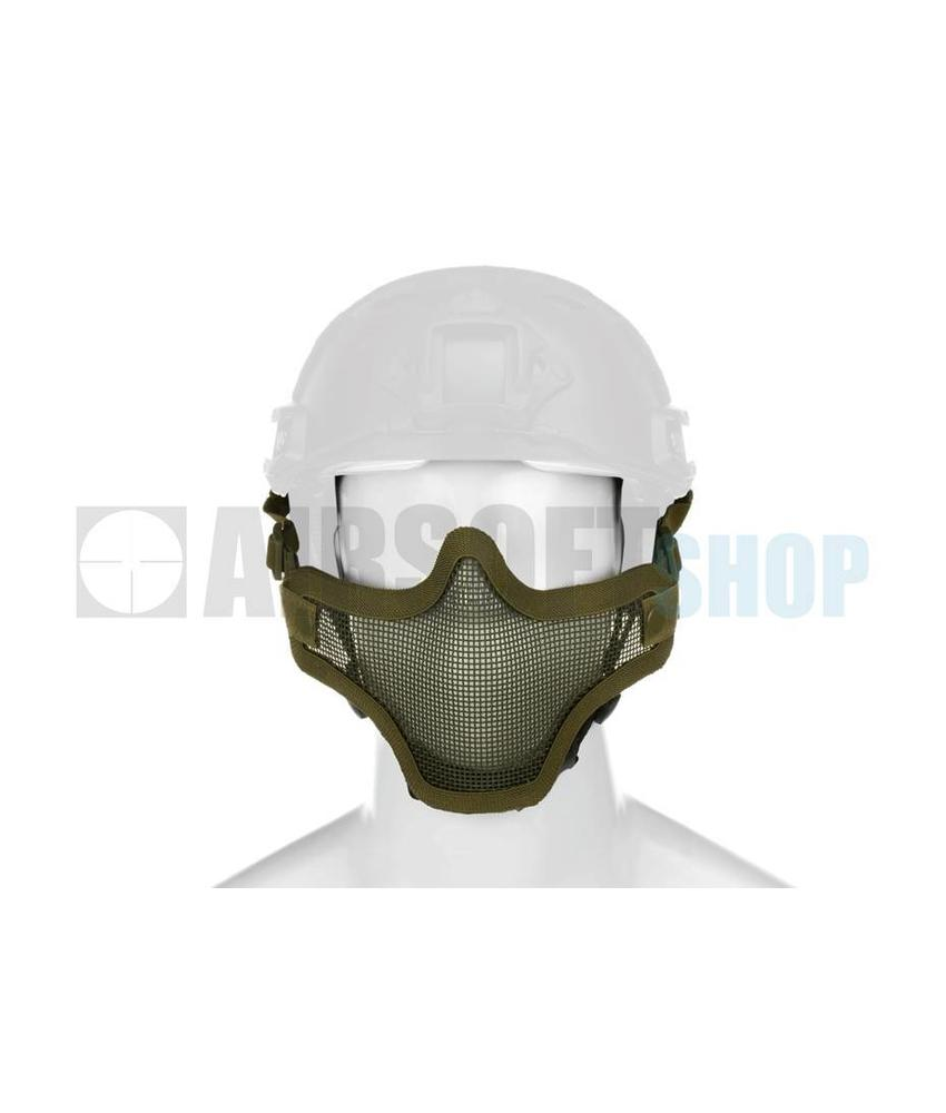 Invader Gear Steel Mesh Mask FAST Helmet Version (Olive Drab)
