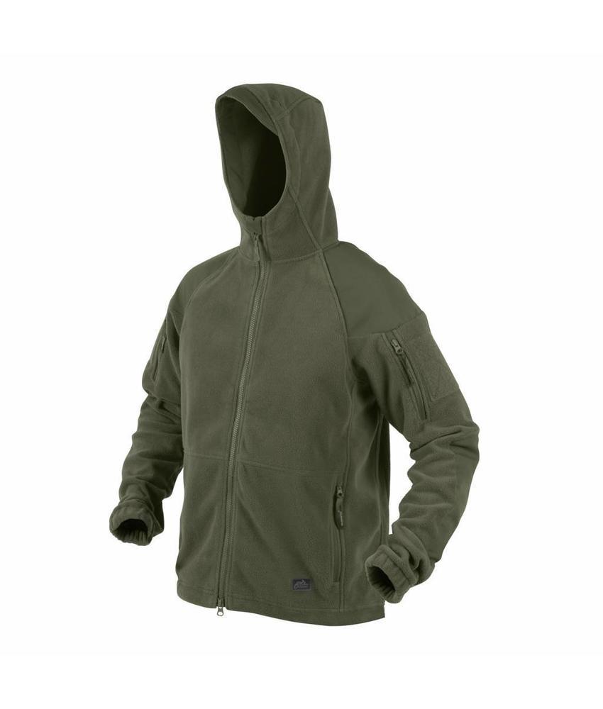 Helikon Cumulus Heavy Fleece Jacket (Olive Green)