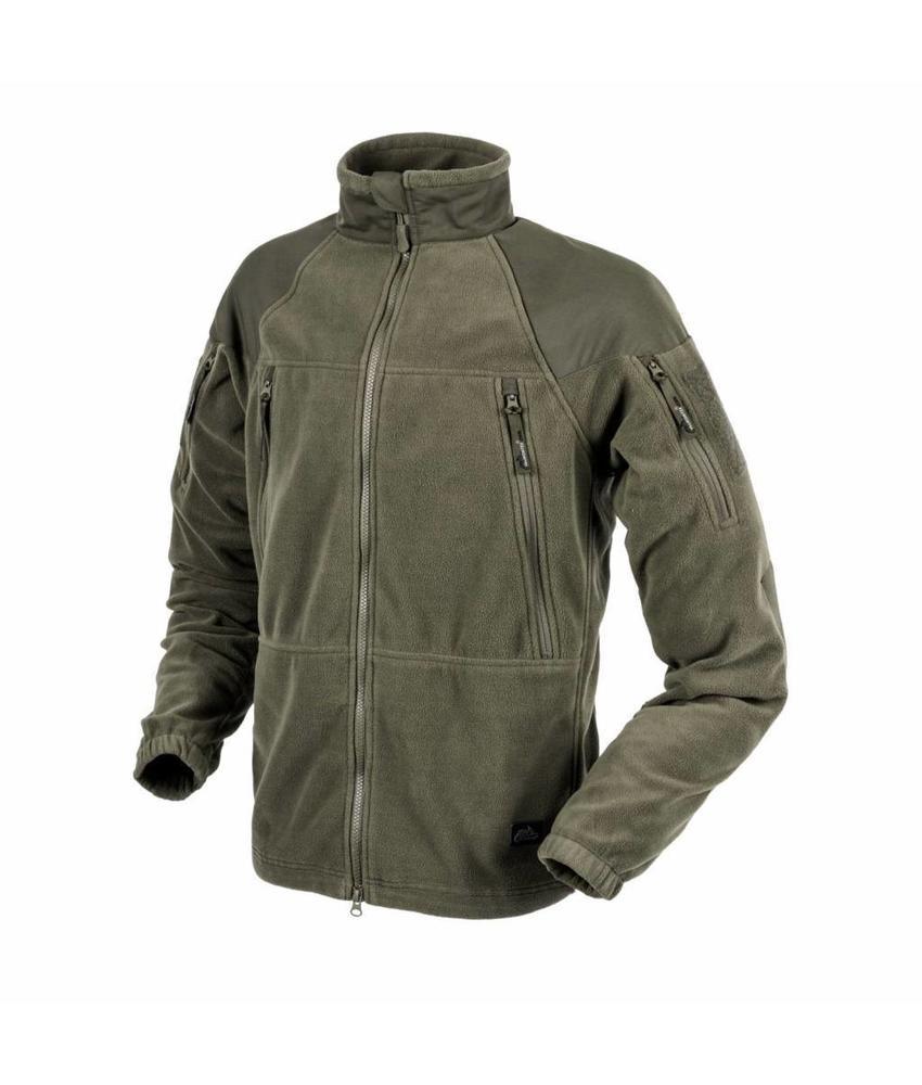 Helikon Stratus Heavy Fleece Jacket (Olive Green)