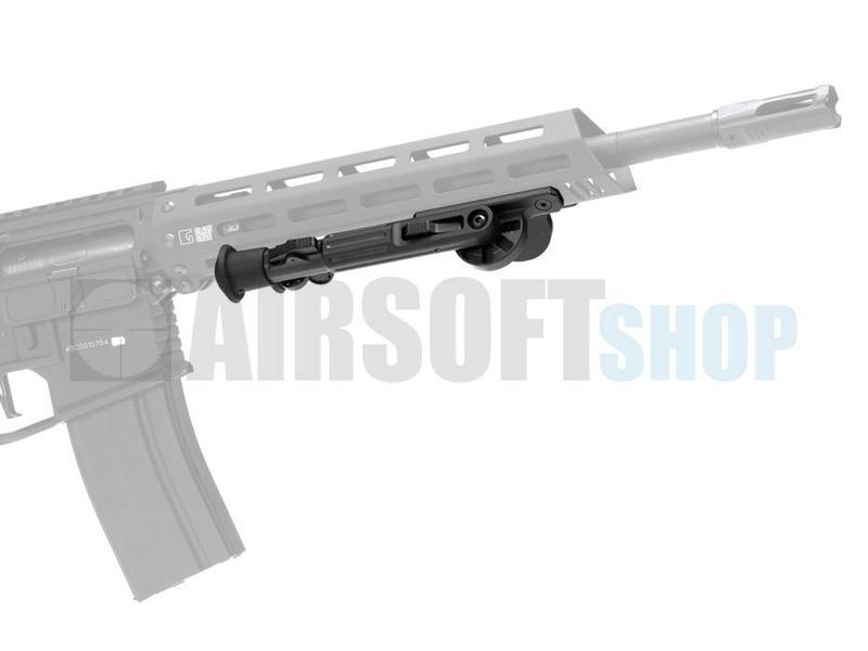 Ares M-LOK Swivel Bipod Short (Black)