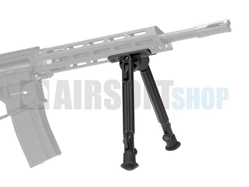 Ares M-LOK Swivel Bipod Long (Black)