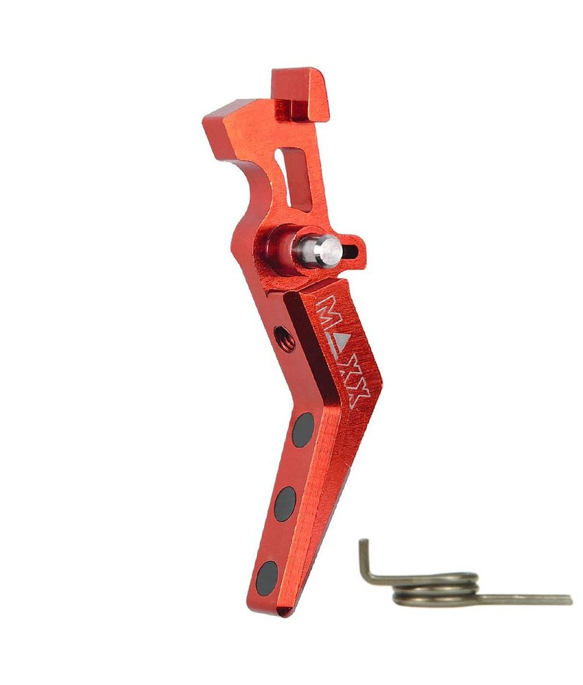 Maxx Model CNC Alu Advanced Trigger (Style A) (Red)