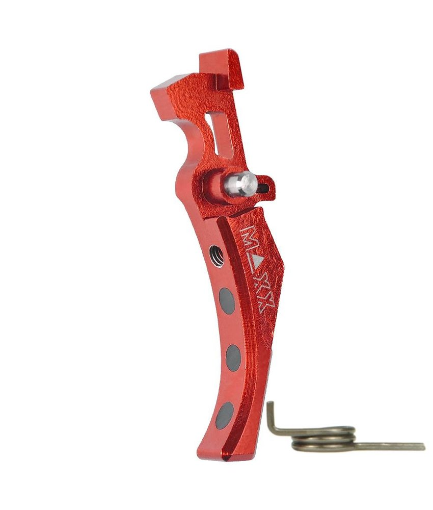 Maxx Model CNC Alu Advanced Trigger (Style D) (Red)