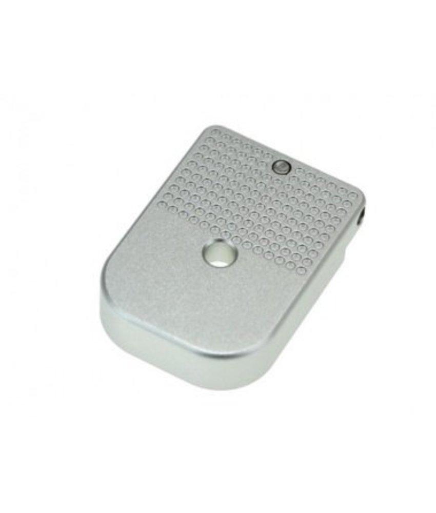 COWCOW Technology Hi-Capa D01 Dottac Magazine Base (Silver)