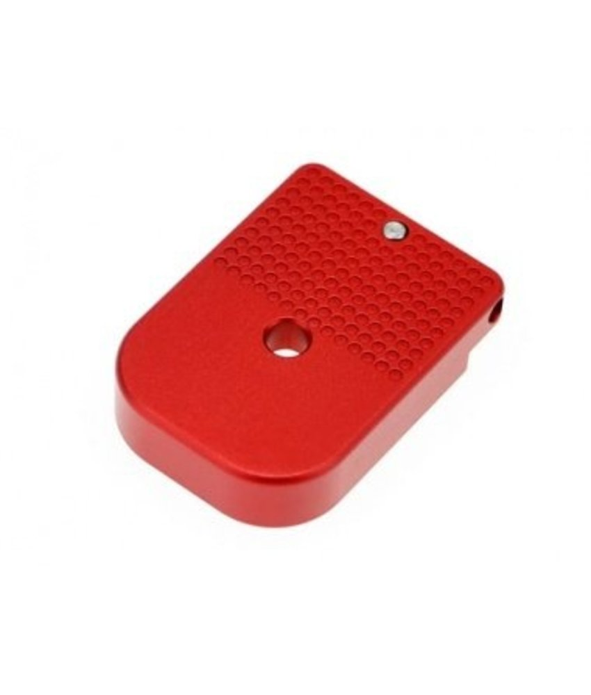 COWCOW Technology Hi-Capa D01 Dottac Magazine Base (Red)