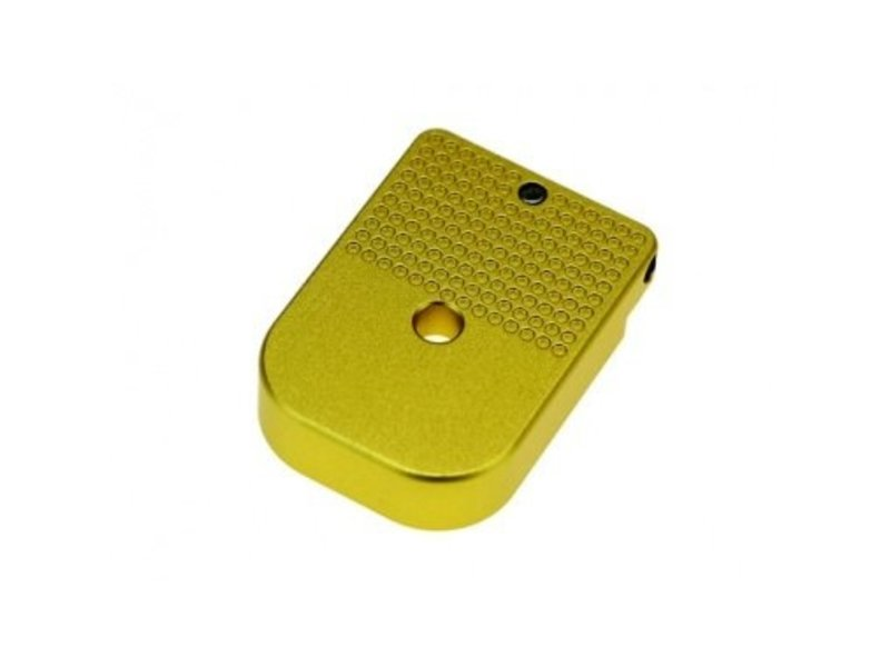 COWCOW Technology Hi-Capa D01 Dottac Magazine Base (Gold)
