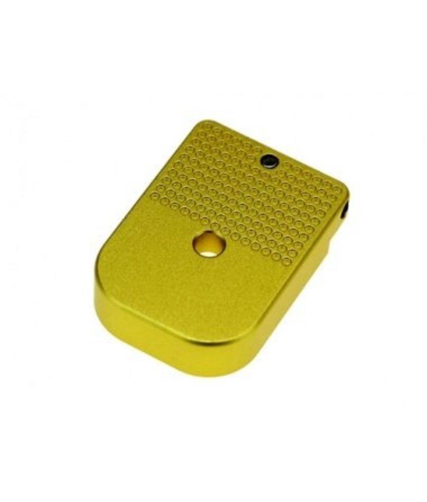 COWCOW Technology Hi-Capa D01 Dottac Magazine Base (Gold)