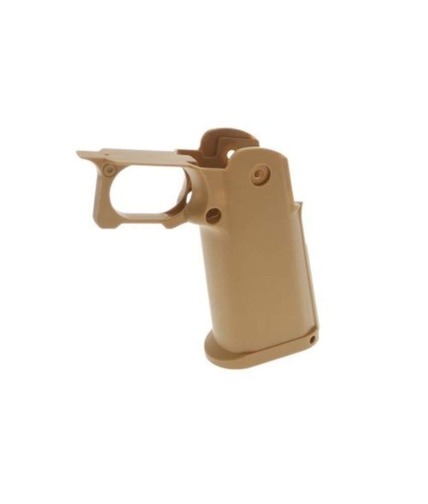 COWCOW Technology TM Hi-Capa Custom Grip (Desert Sand)