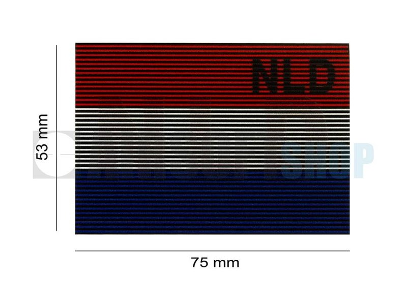 Claw Gear Dual IR Patch BEL (The Netherlands) (Color)