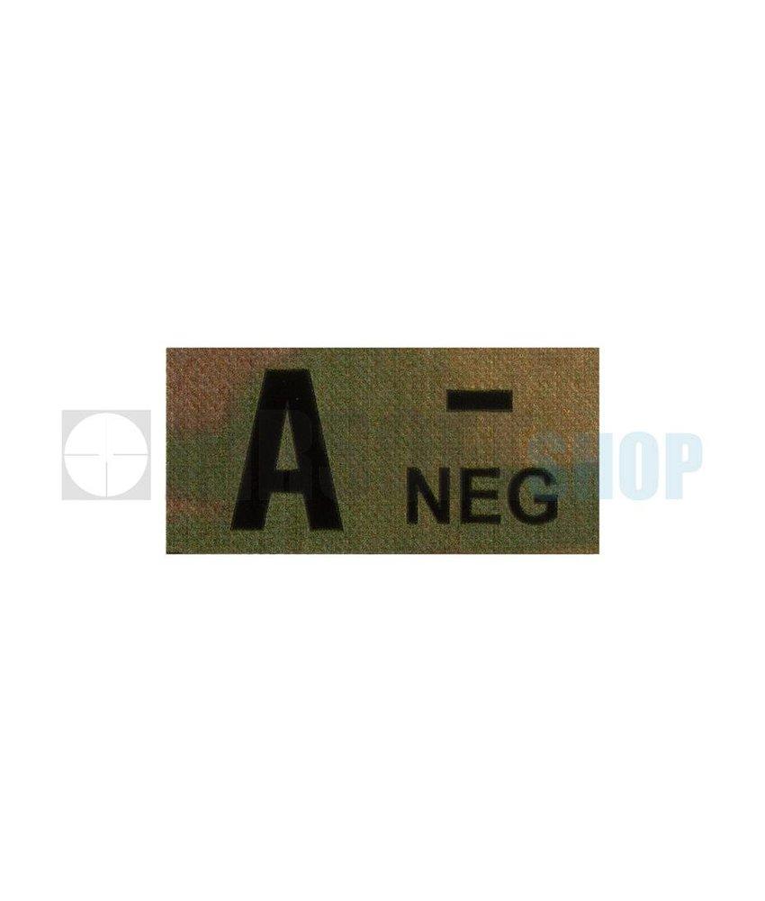 Claw Gear A Neg IR Patch (Multicam)