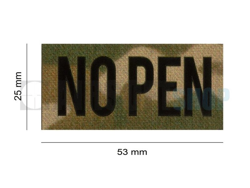 Claw Gear No Pen IR Patch (Multicam)