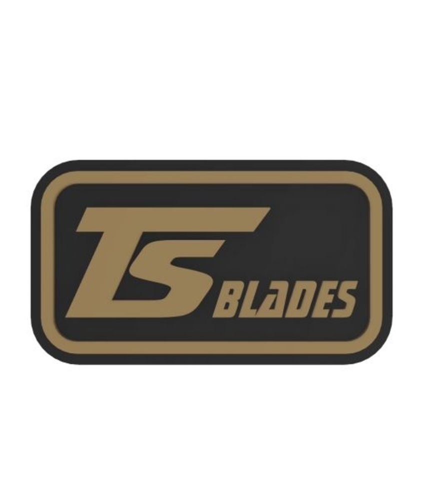 TS Blades LOGO Rubber Patch