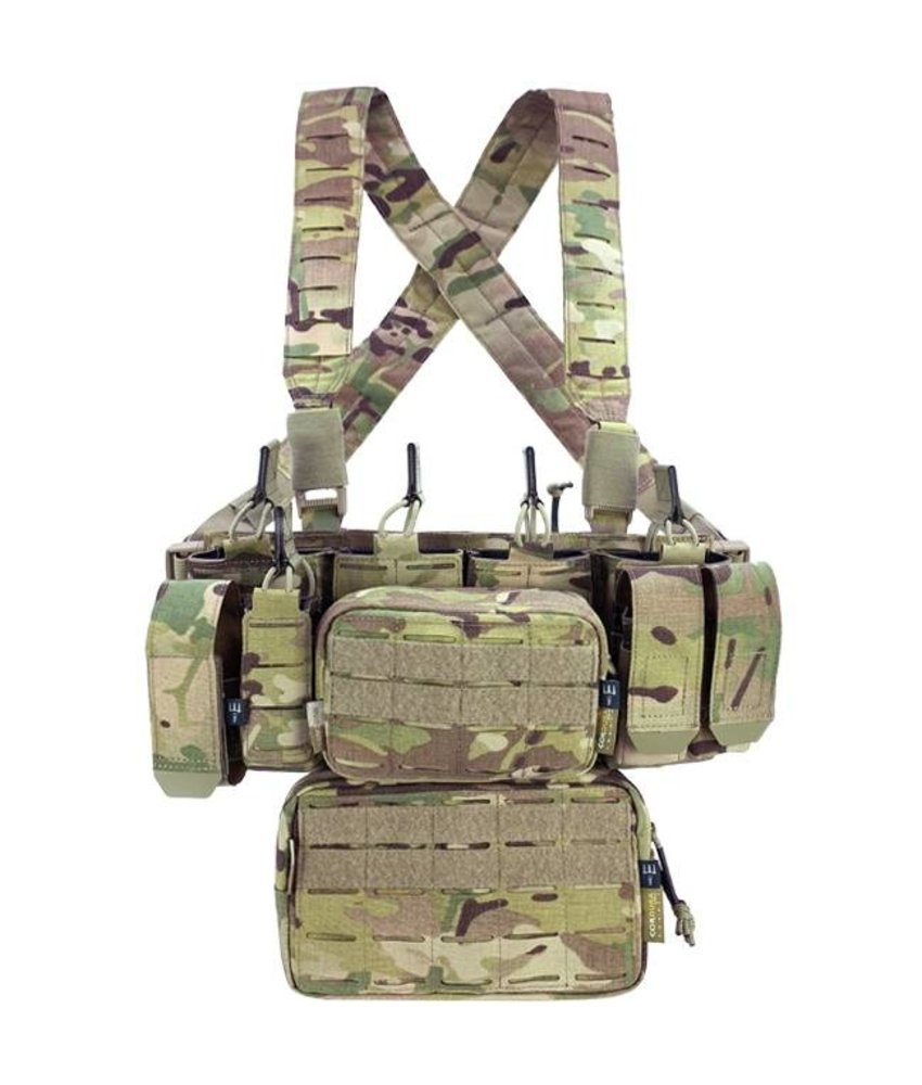 Pitchfork MCR Modular Chest Rig Complete Set (Multicam)