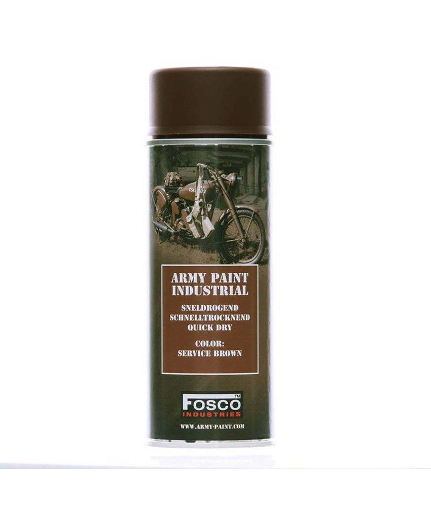 Fosco Spray Paint Service Brown 400ml