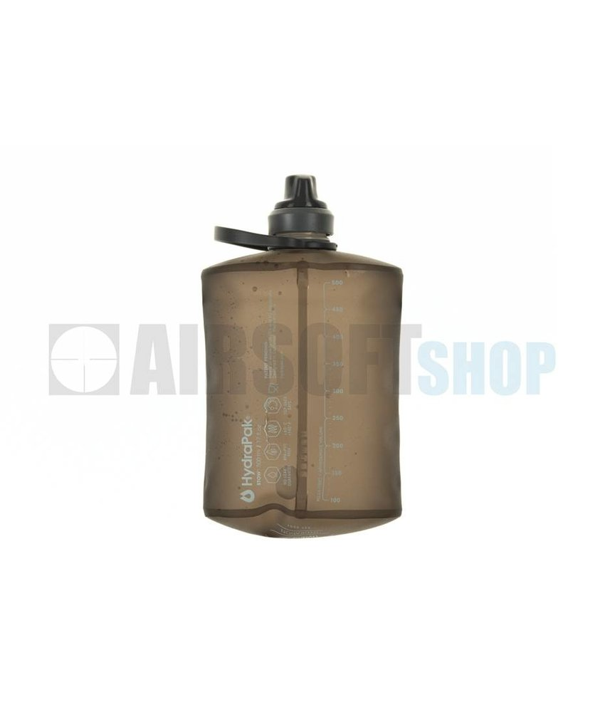 Hydrapak Stow Bottle 500ml (Smoke Gray)