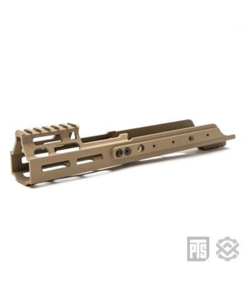Magpul PTS Kinetic SCAR MREX M-LOK 4.9 inch For SCAR  (Dark Earth)