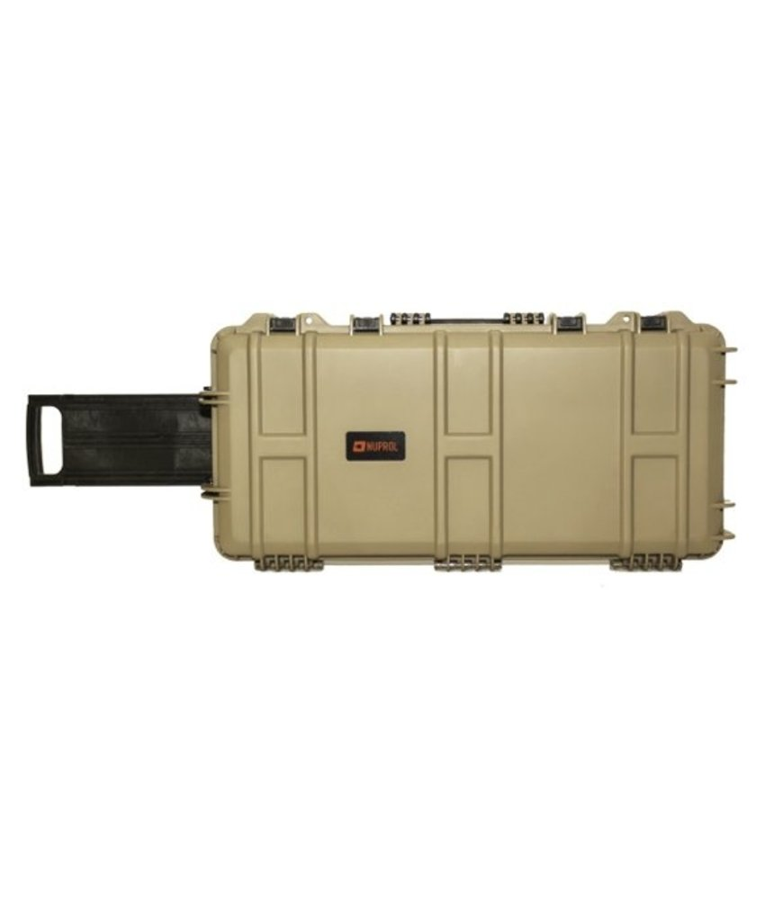 NUPROL Medium Hard Case (Wave Foam) (Tan)