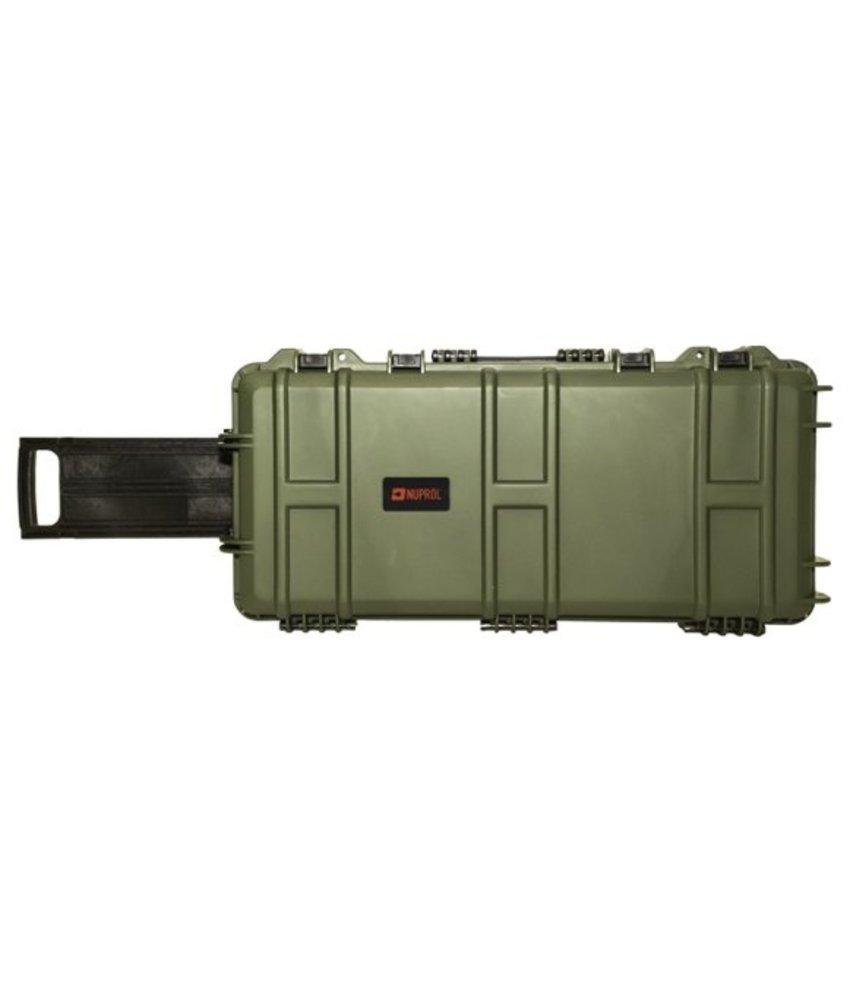 NUPROL Medium Hard Case (Wave Foam) (Green)