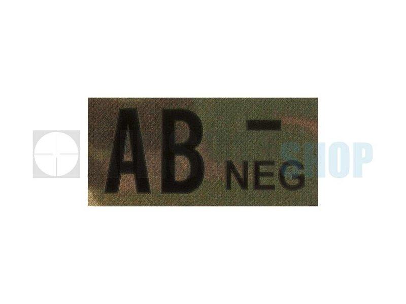 Claw Gear AB Neg IR Patch (Multicam)