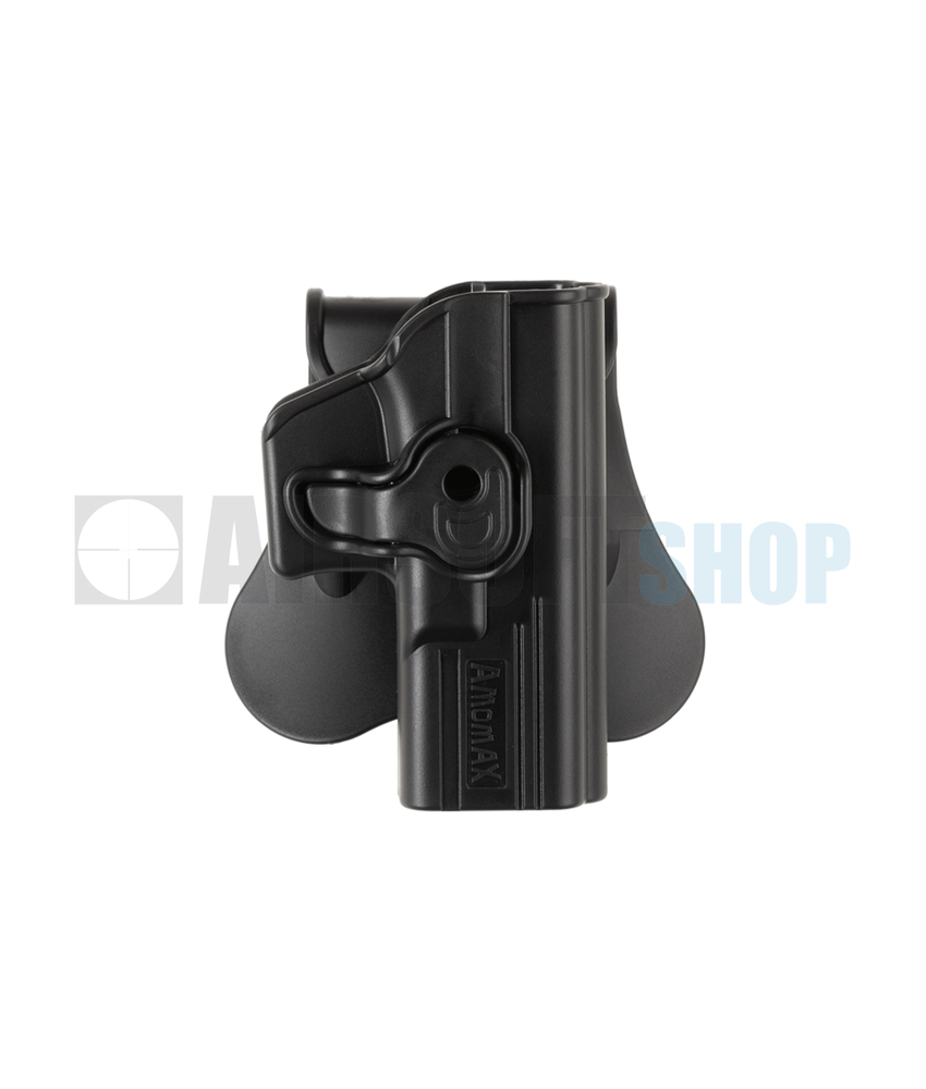 Amomax Paddle Holster for WE17 / KJW17 / TM17 (Black)