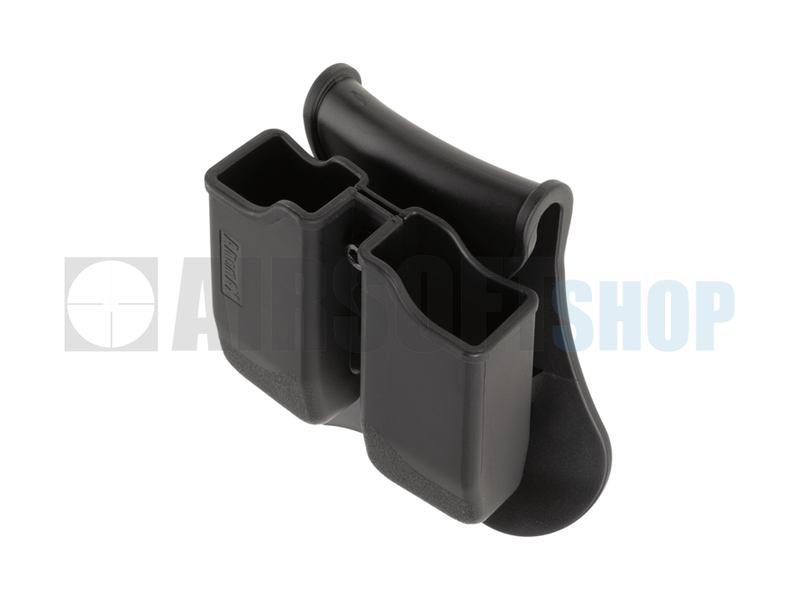Amomax Double Mag Pouch for P226 / M9 / CZ P-09 (Black)