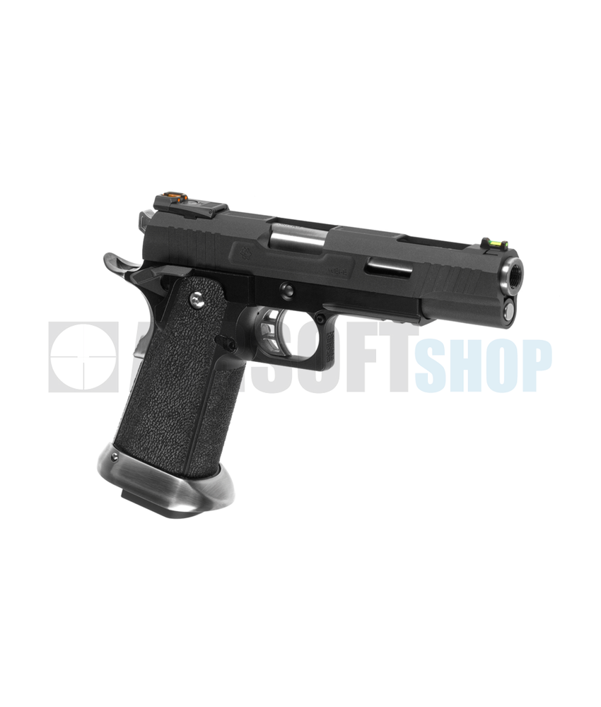 WE Hi-Capa 5.1 Force Full Metal GBB (Black)