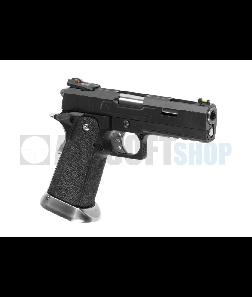 WE Hi-Capa 4.3 Force Full Metal GBB (Black)