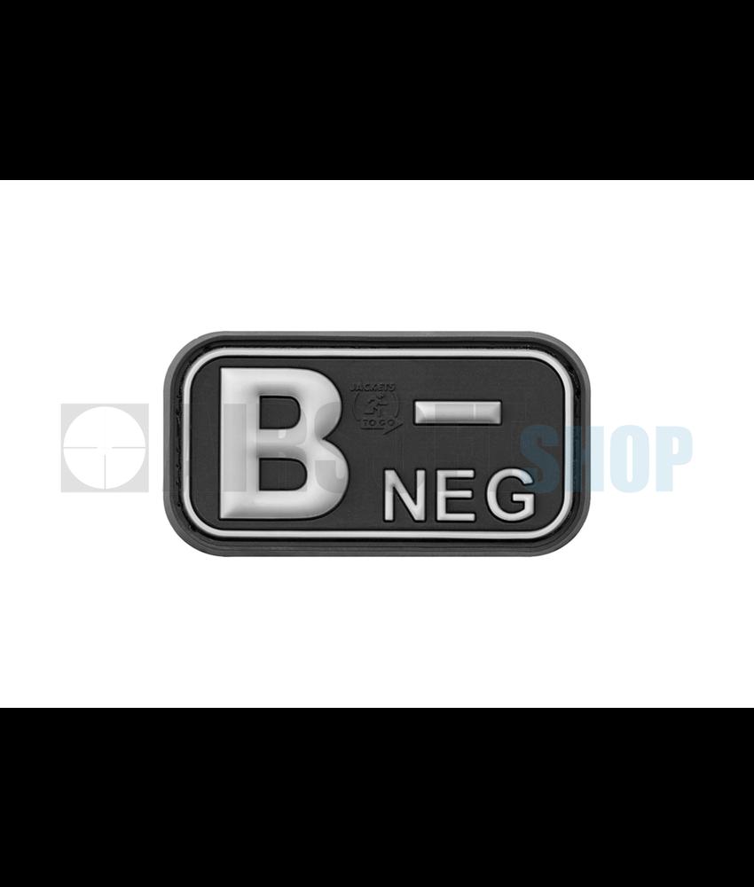 JTG Bloodtype Rubber Patch B NEG (SWAT)