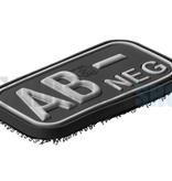 JTG Bloodtype Rubber Patch AB NEG (SWAT)