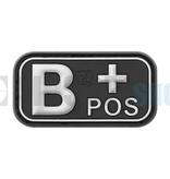 JTG Bloodtype Rubber Patch B POS (SWAT)