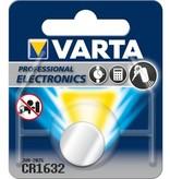 VARTA CR1632 Lithium 3V Batterij