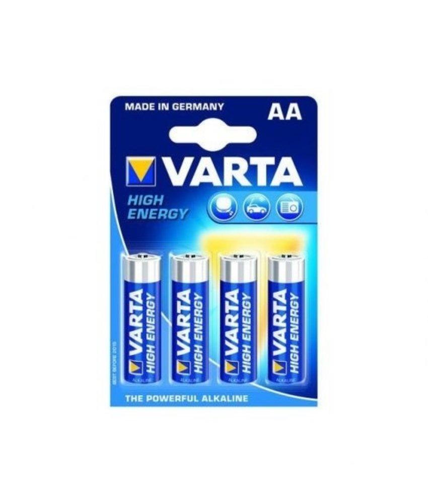 VARTA LR6 AA Alkaline Batterij