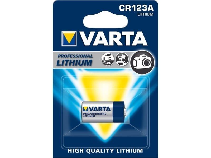 VARTA CR123A Lithium 3V Batterij