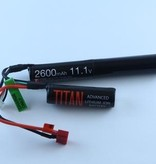 Titan Power 11.1V 2600mAh Li-Ion Battery (Nunchuck - Deans)