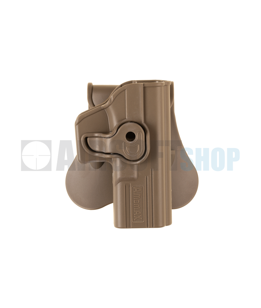 Amomax Paddle Holster for WE17 / KJW17 / TM17 (Dark Earth)